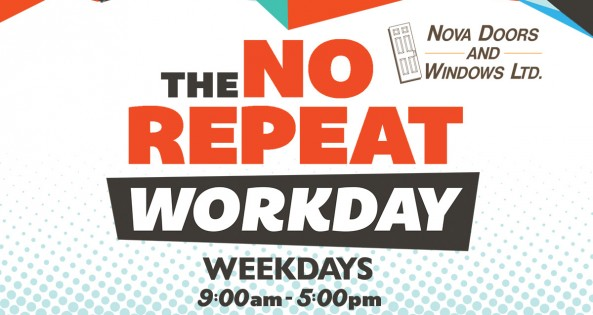 The 9-5 No Repeat Work Day